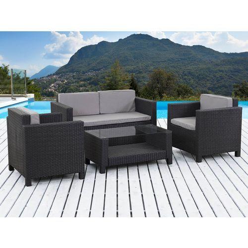 Lounge Un Joli Salon De Jardin En Resine Tressee Salon De Jardin