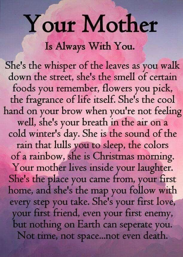 Pin by ⛄️C~A~T~H~Y⛄ on I ❤️Mom | Pinterest | Grief, Poem ...