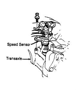 1991 Honda Accord Problem Vehicle Speed Sensor Electrical