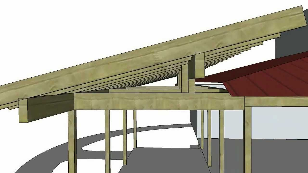 Porch Roof Addition Sketchup Animation 1216 Youtube