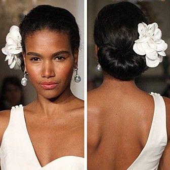 African American Wedding Updo Hairstyles