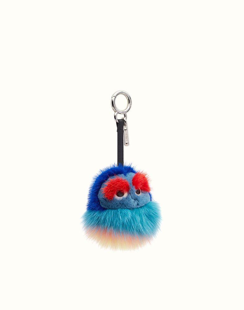 Kid fur keychain - Multicolour Fendi CDCis14