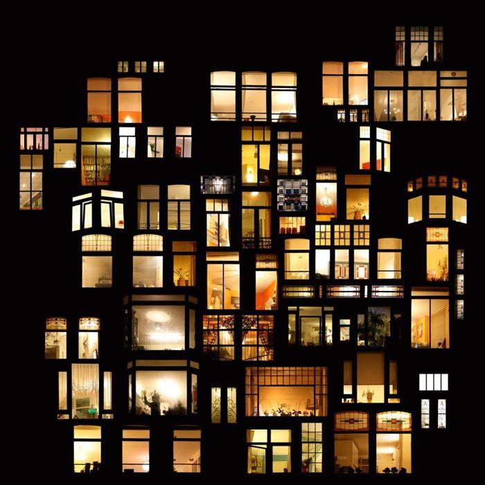 Night window collages.... | PG.1~ LOOKING THROUGH NIGHT WINDOWS 1 ...