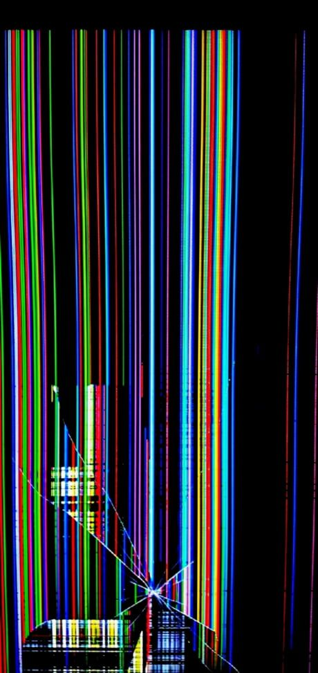 Bugger..... Broken Screen!!!! - Wallpaper