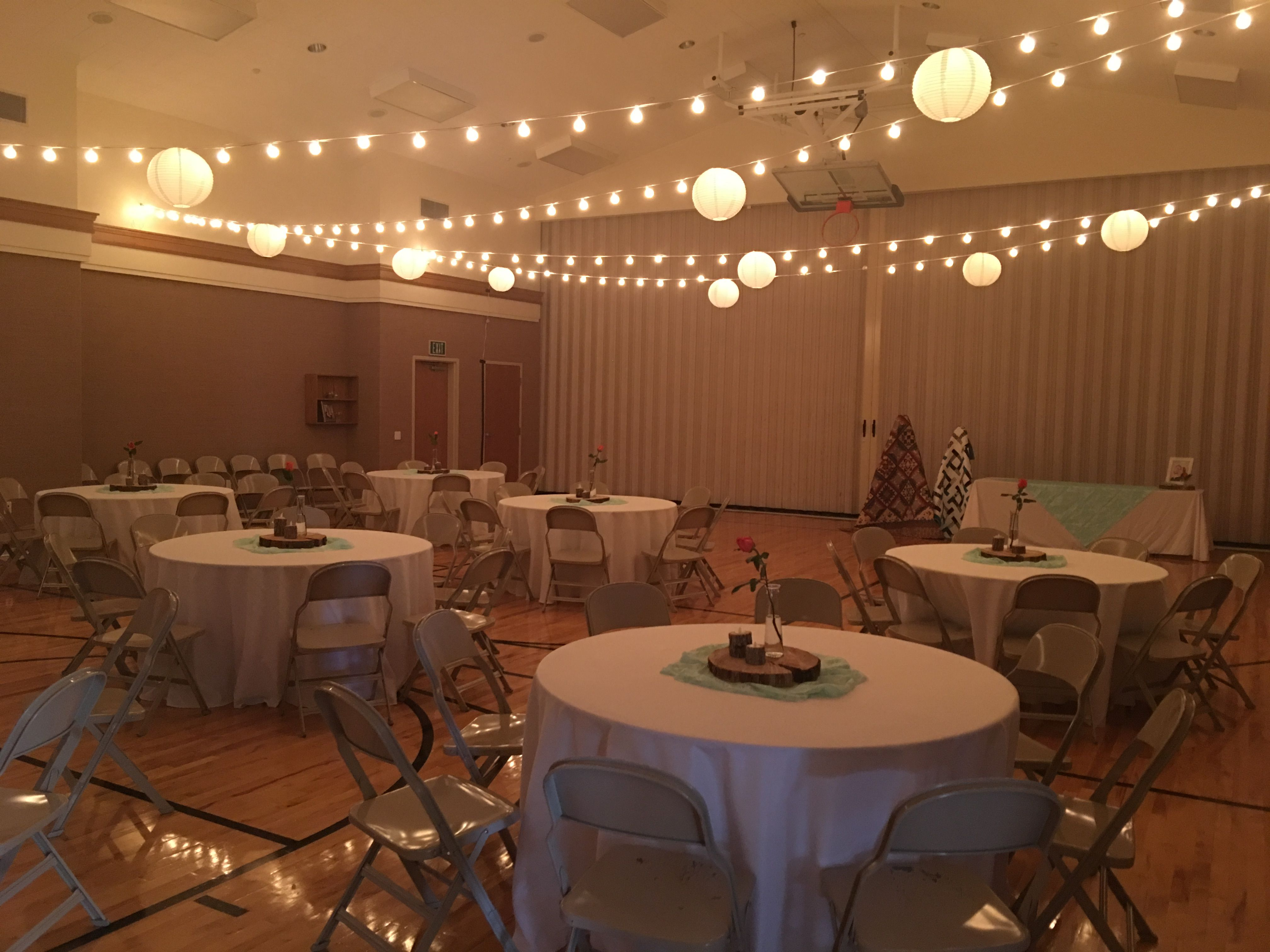 Small Lds Cultural Hall Reception Lds Wedding Reception