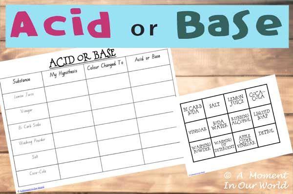 Pin On Ghinwa Acid and base worksheet