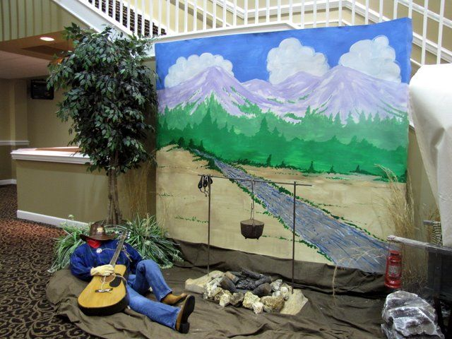 VBS Decorations for 2010 Saddle Ridge Ranch | Son West ...