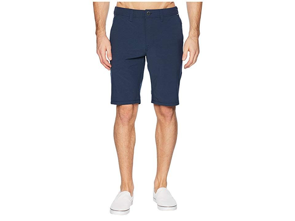 Volcom Frickin SNT Static 2 Navy Mens Shorts Your spontaneous personality will appreciate the versatility of the Frickin SNT Static 2 shorts Part of the Volcom Surf Turf...