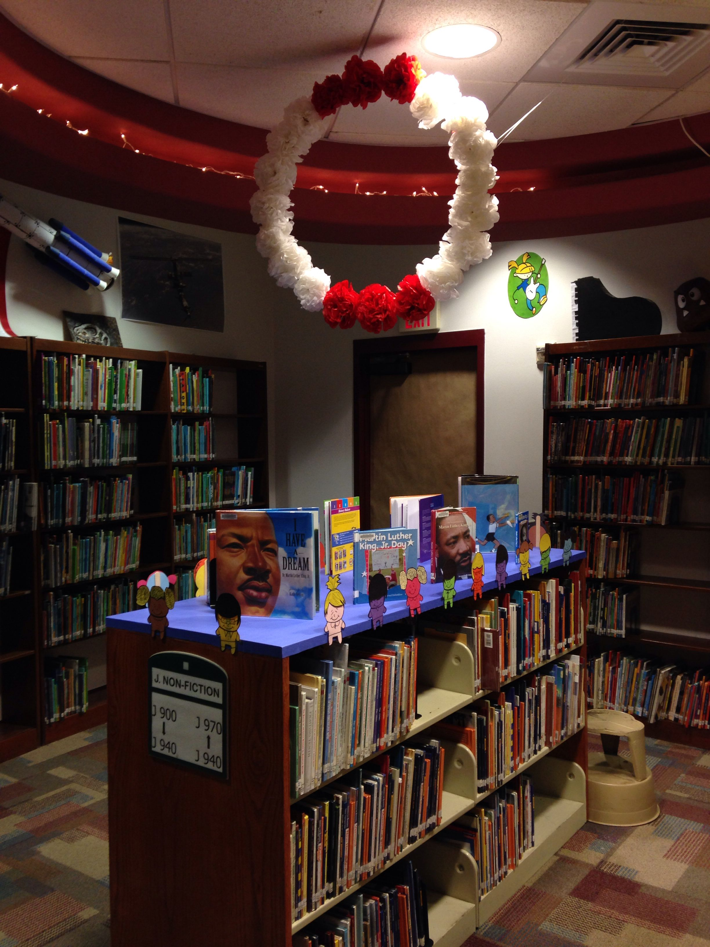 Martin Luther King Jr Day Book Display Library Book Display
