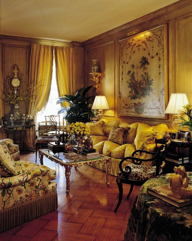 Classical Interiors, Timeless Elegance, Old World ...