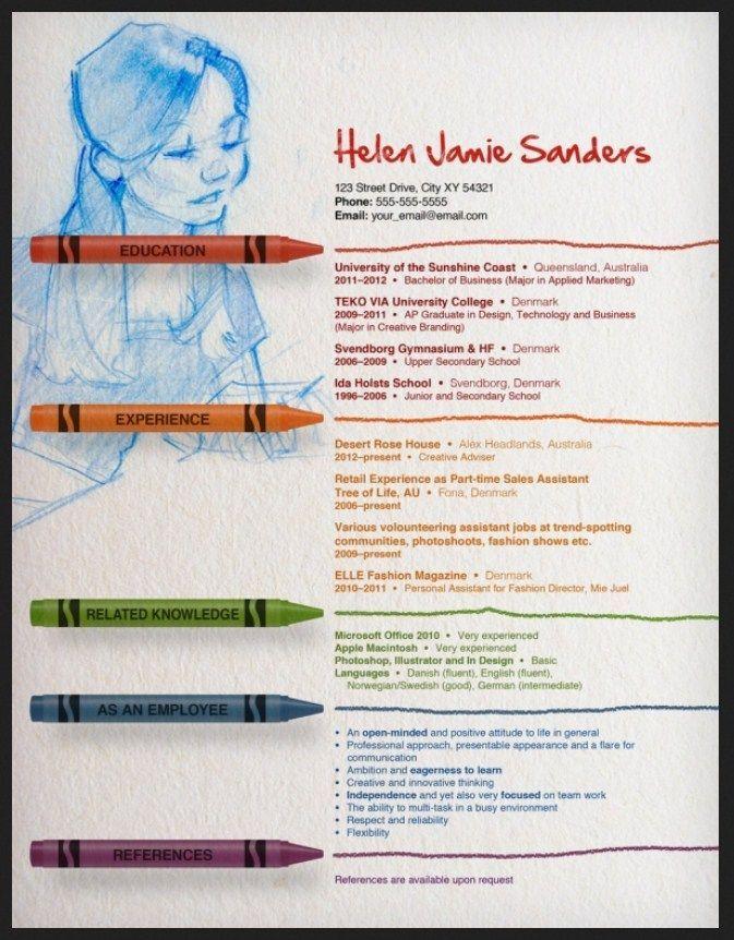 unique resume teacher templates