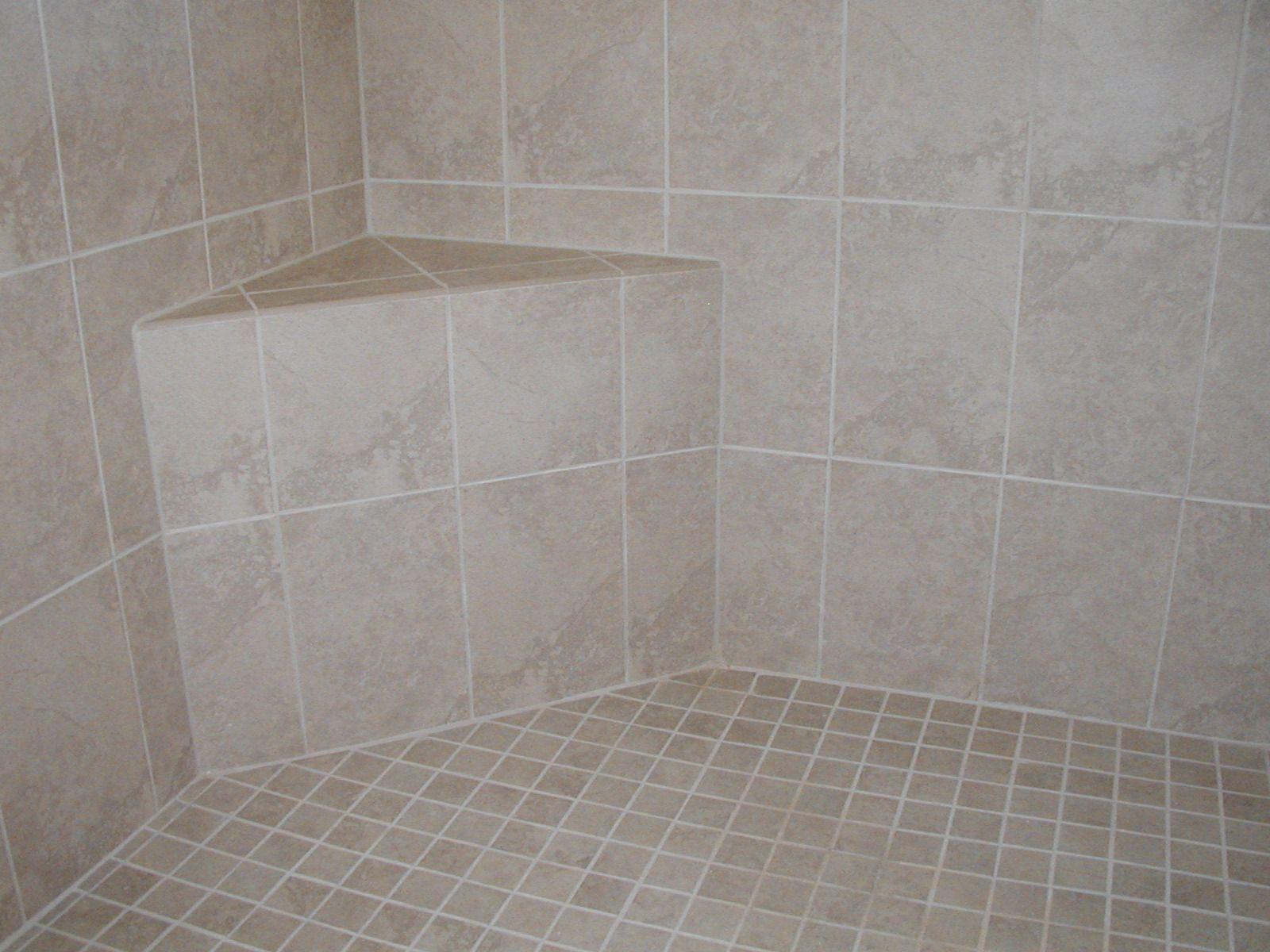 Built in shower seat!   The Carmel in Fieldstone Ranch   Pinterest ...