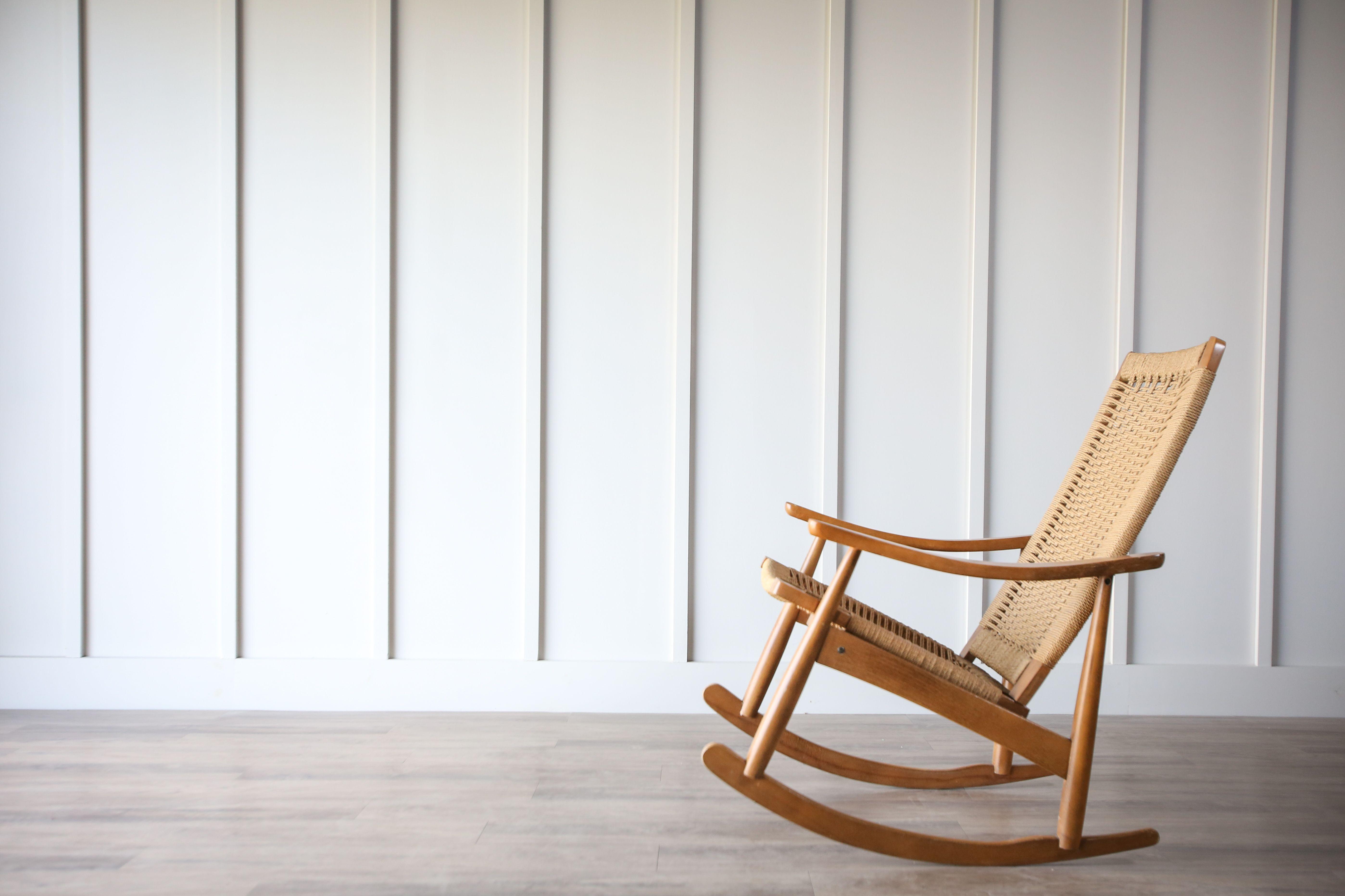 Tremendous Danish Rope Rocker In 2019 Housemade Vintage Rocking Short Links Chair Design For Home Short Linksinfo