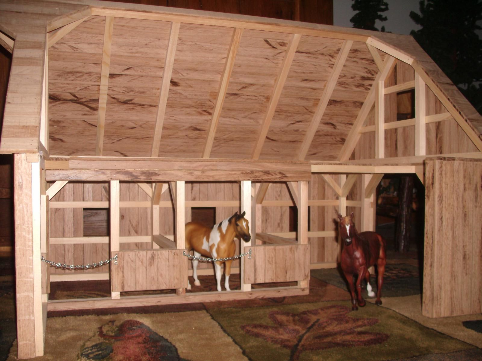 Wooden toy barn 6 products i love pinterest for 4 horse barn