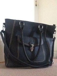 Shoulder Bag Handbag From Clarks Navy Vgc Ebay