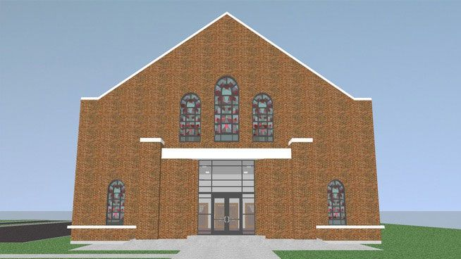 Free download SketchUp Components 3D Warehouse - Church: Free 3d