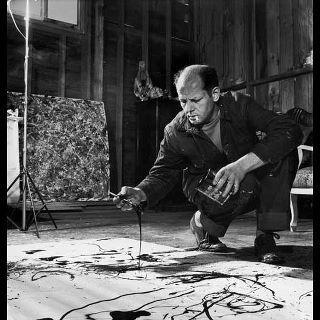Passione Arte  July 11, 2011     Jackson Pollock    [Pittore Americano, 1912-1956 - Espressionismo Astratto]    E' il rappresentante più emblematico dell'action painting, la corrente che rappresenta il contributo americano all'informale. La sua breve vita è segnata da eventi drammatici che ripropongono il prototipo dell'artista maledetto, tipico del panorama artistico europeo di fine Ottocento, e che nella cultura americana era stato..with Adriano Delgado and Lore Pereyra.