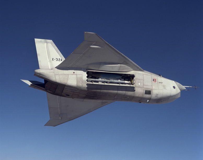 Boeing X-32 Experimental JSF STOVL CTOLCV XPLANE Aircraft