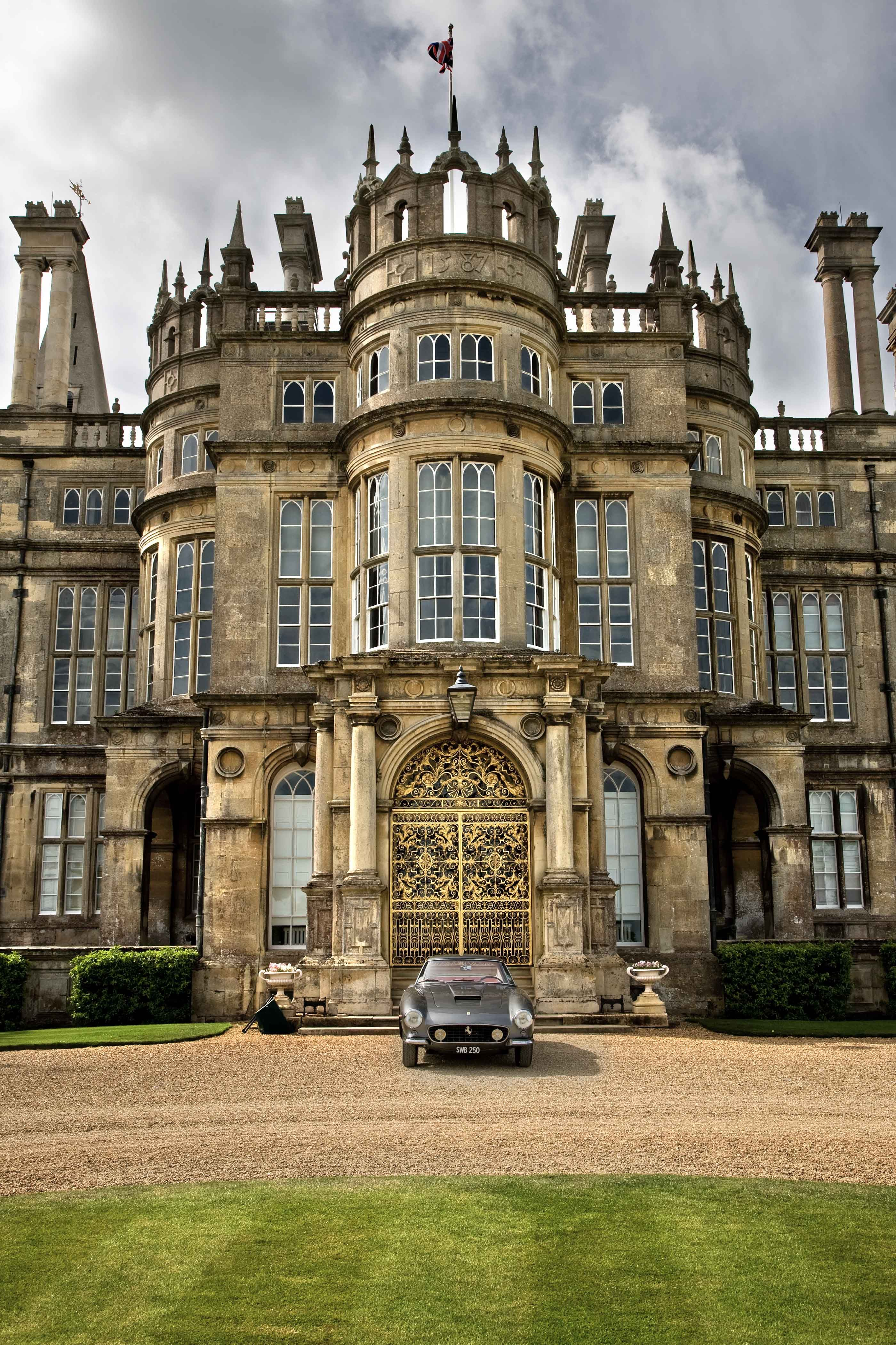 Burghley House 1587 A Grand 16th Century Country House In Cambridgeshire 0 9 Miles South Of Stamford Lincolnshire England 10 Miles Northwest Of The
