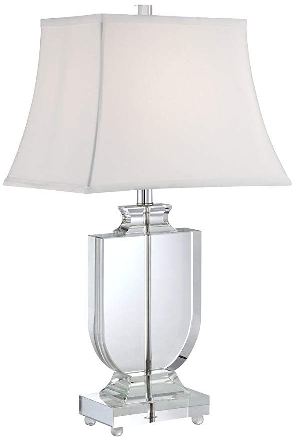 Tilde Clear Crystal Urn Table Lamp Crystal Table Lamps