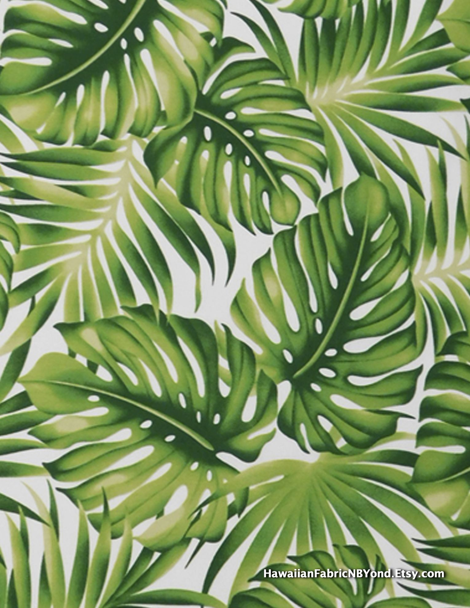 Tropical Fabric Monstera Leaves And Palm Fronds By Hawaiianfabricnbyond A Shop At Etsy Com Tropical Art Print Tropical Art Leaf Art Image provided by getty images. pinterest