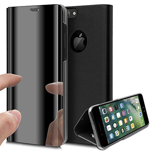 coque iphone 8 avec rabat transparent