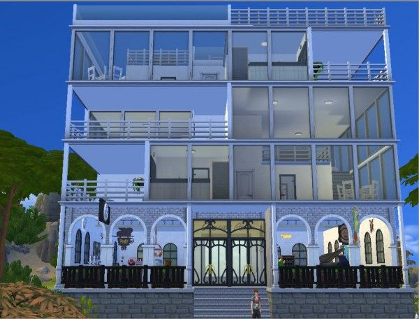 Mod The Sims Awesome Apartments No Cc By Whanghansong Cool