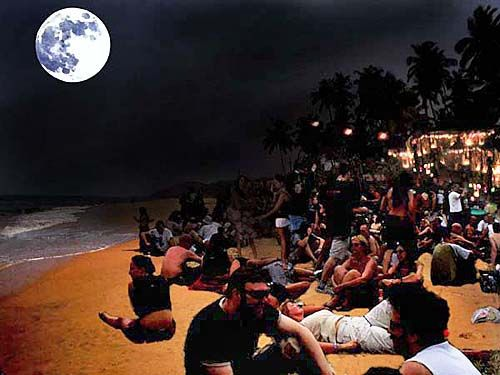 Goa India Full Moon Parties And Carnival In March India Dairies