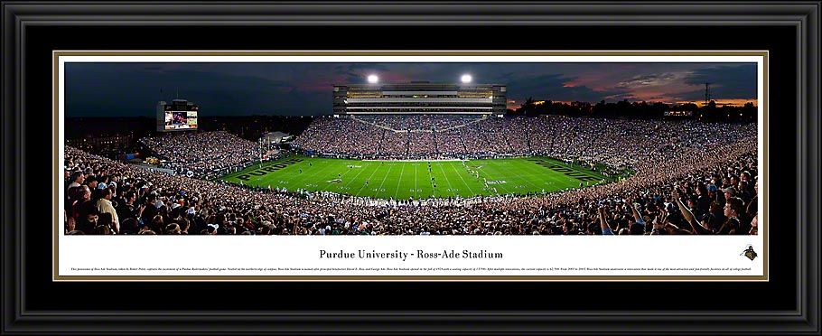 Purdue University Boilermakers Ross Ade Stadium Panoramic Picture 199 95 Purdue University Purdue Panoramic