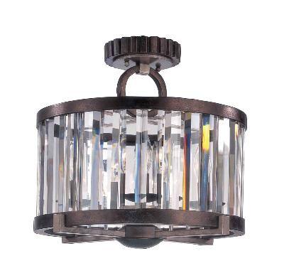Victors Lighting Farrel Semi Flush Ceiling Lights