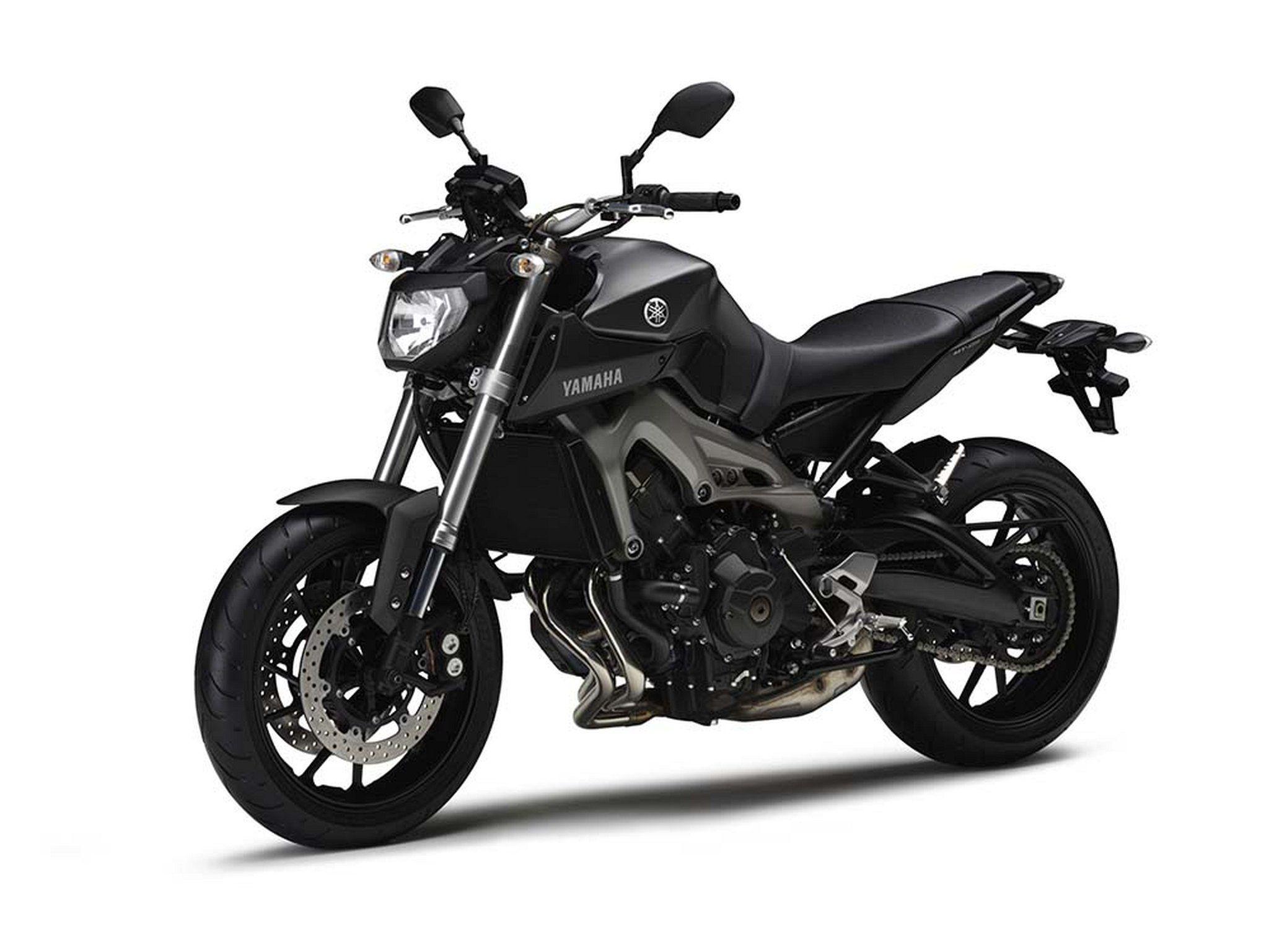 Yamaha MT09 Nächste Generation der MTModellreihe Мотоцикл