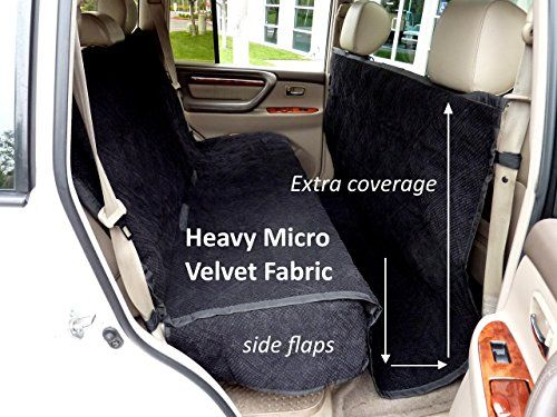 Heavy Micro Velvet fabric Pet Seat Cover with Non-Slip Fabric in Seat Area for Pets  One Size Fits All 56Wx94L Black Review https://dogcarseat.review/heavy-micro-velvet-fabric-pet-seat-cover-with-non-slip-fabric-in-seat-area-for-pets-one-size-fits-all-56wx94l-black-review/