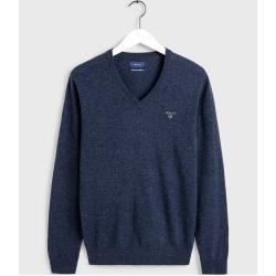 Photo of Gant Superfine Lambswool Sweater (Blau) Gant