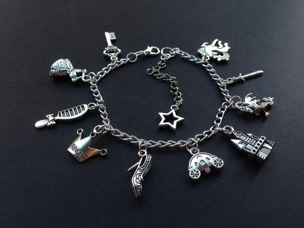 Teen Wolf Charm Bracelet Triskelion Arrows Anchors Guns Fandom Supernatural Fox