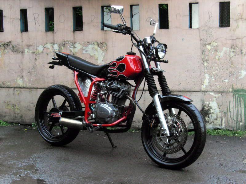 motor modifikasi jap style terbaru