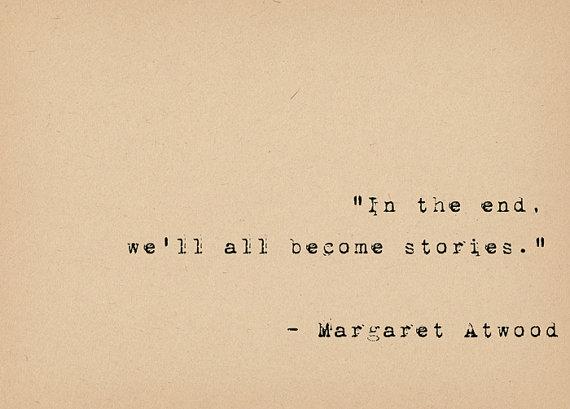 Literary Quote Print - Bibliophile Art - Margaret Atwood Quote - Feminist…