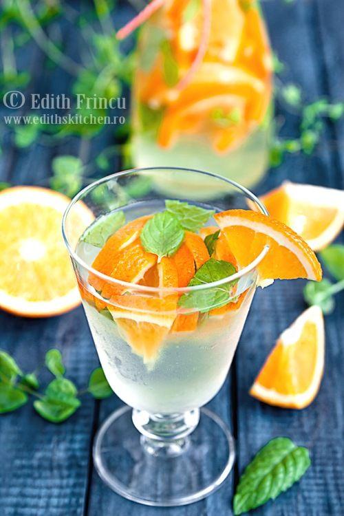 apa cu portocale 2 - Love the colors and arrangement