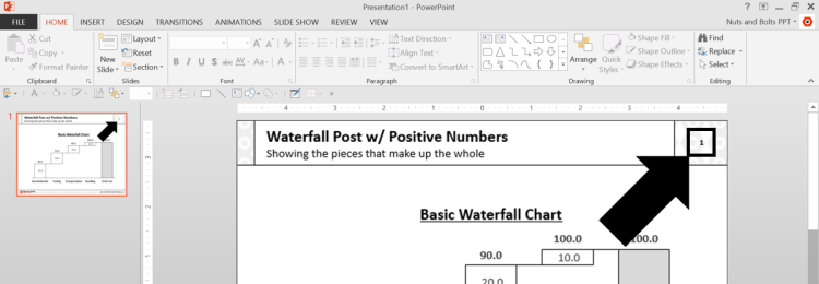 How To Add Slide Numbers In Powerpoint So That They Show Up