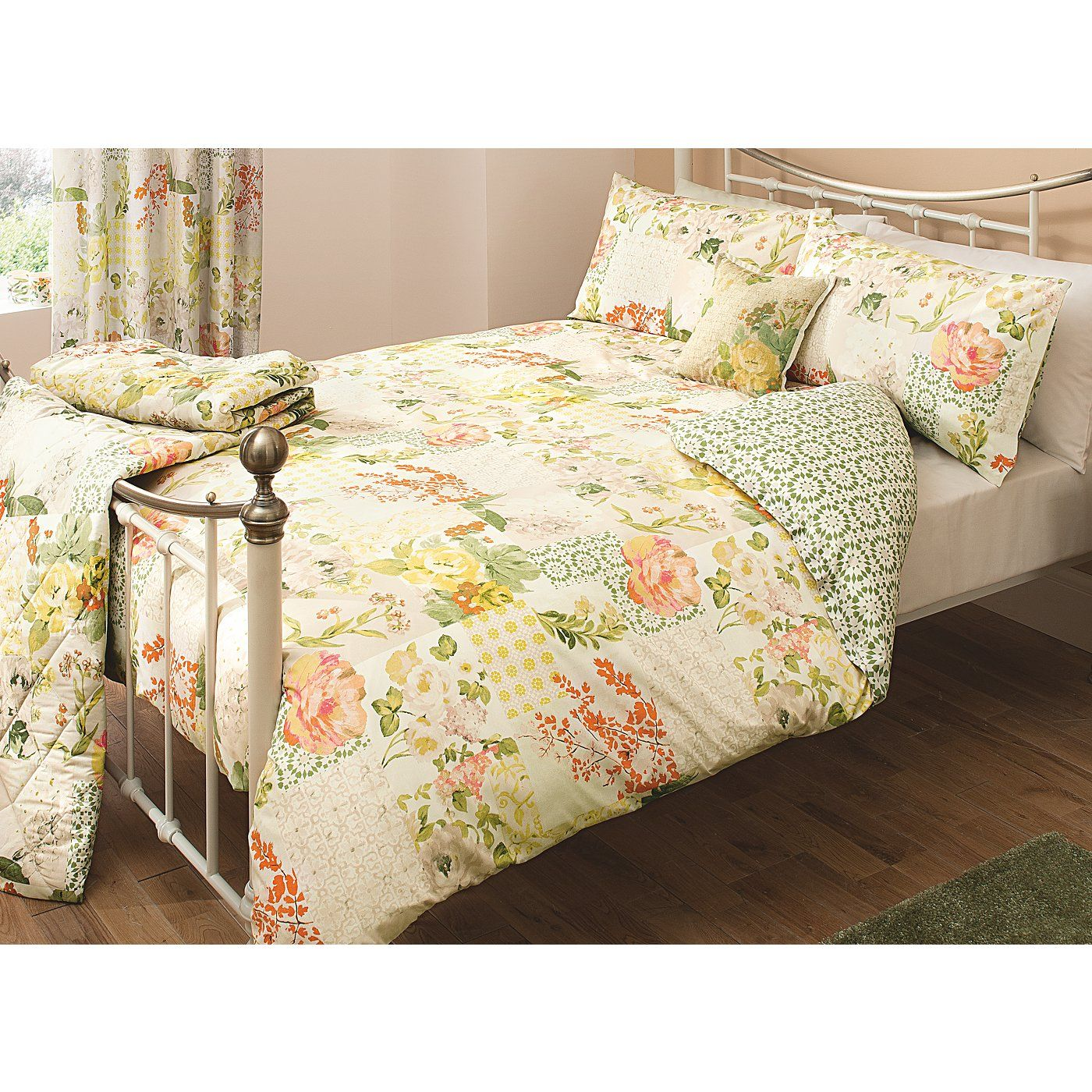 Mix Fl With Geo Ornament George Home Bellezza Patchwork Duvet Range From Our