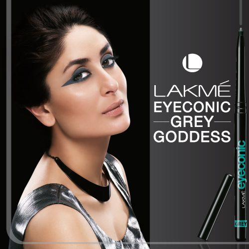 Grey Goddess Lakme Eyeconic Kareenakapoor Eyes Makeup Pretty