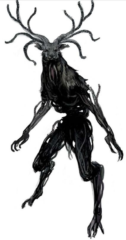 Champion Of Jerkwall Dark Creatures Shadow Monster Alien Concept Art