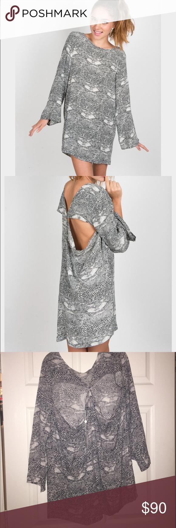 ACACIA Tortolla Dress in Snake Brand new with tags acacia swimwear Swim
