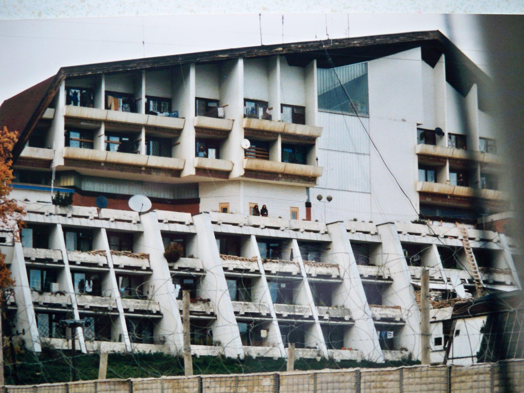 UN headquarter Kiseljak 1993 during that terrible war
