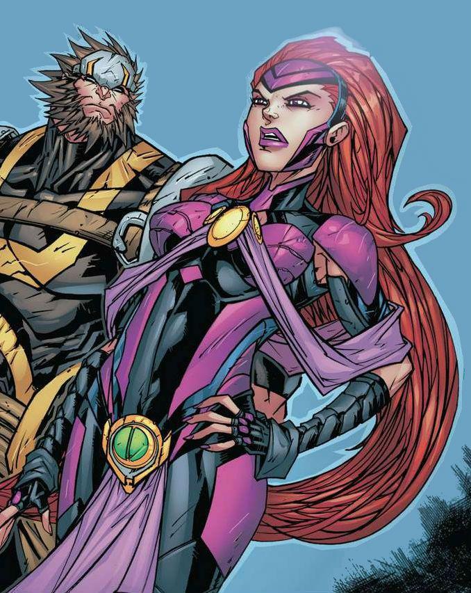 Gorgon And Medusa By Jonboy Meyers Marvel And Dc Superheroes Medusa Marvel Marvel Inhumans