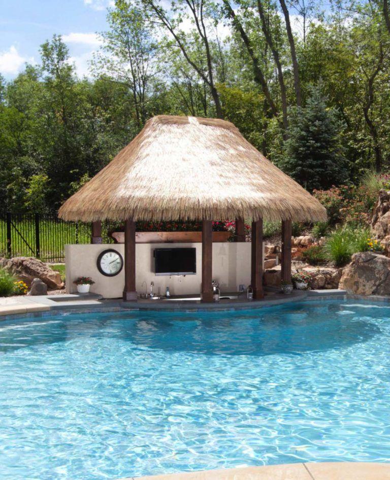 One Kindesign: 33 Mega-Impressive Swim-up Pool Bars Built For