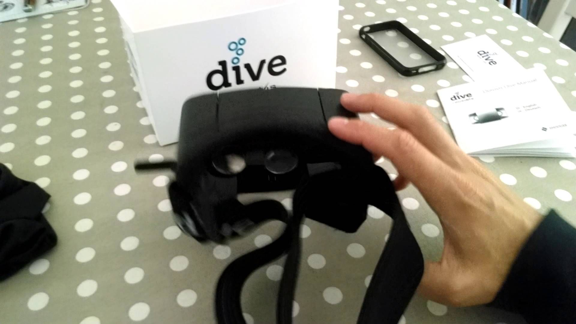 Découverte du Dive by Durovis  unboxing  VR #vr #virtualreality #virtual reality