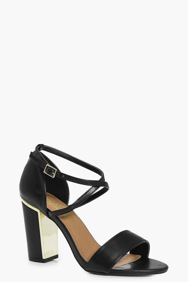 79af3e8e68a Block Heel 2 Part | Products | Block heels, Heels, Boohoo