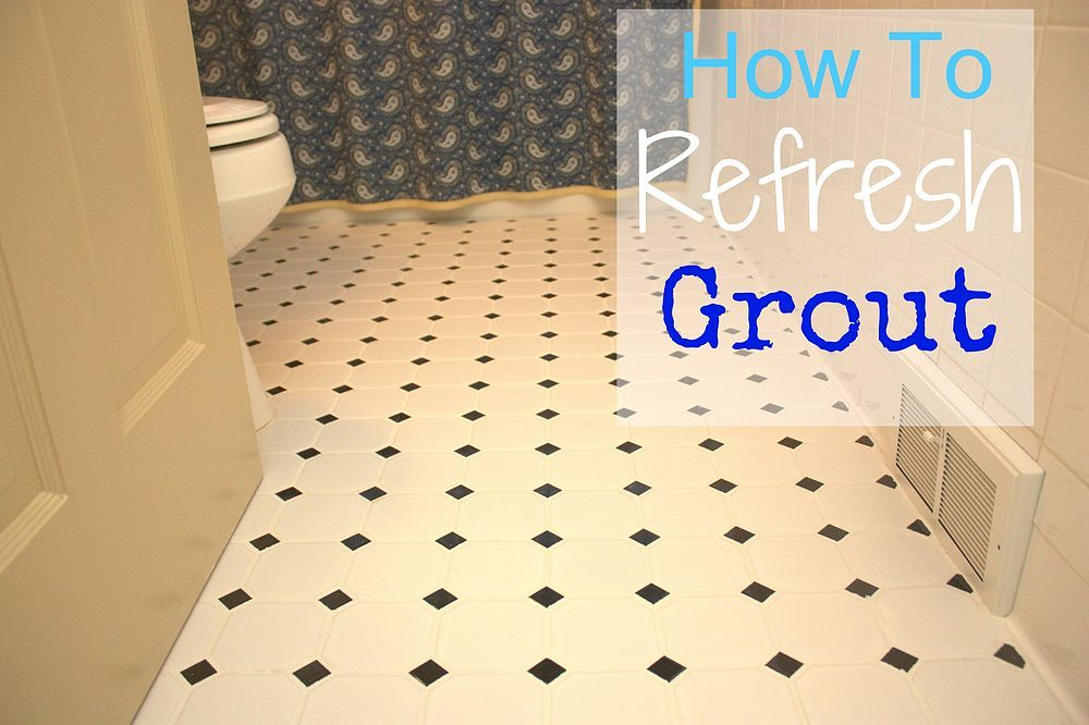Refreshing White Grout