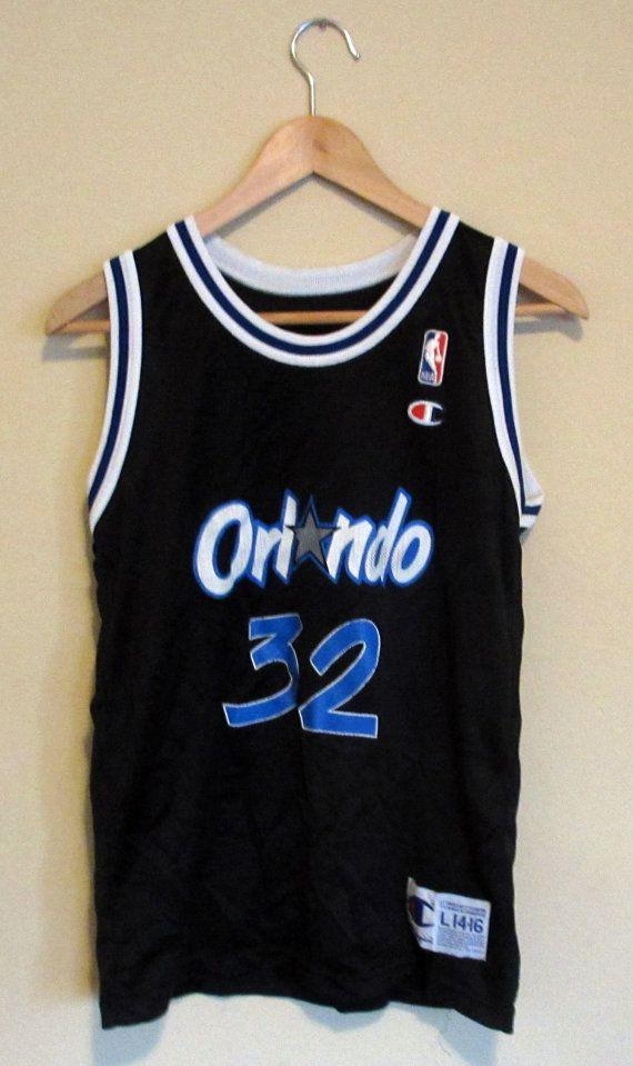 innovative design 18bed dd0e0 Vintage Orlando Magic Shaq Champions Jersey 32 Large ...