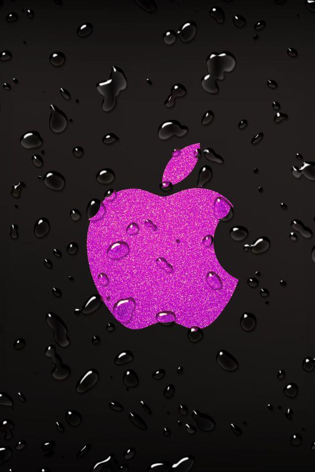 Pink Apple Logo Wallpaper Bing images Apples in Pink